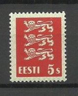 ESTLAND Estonia 1928 Michel 77 MNH - Estland