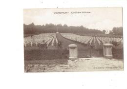 Cpa Militaria - Cimetière Militaire VIGNEMONT Oise - Tombes - Cl. G.Hebert - War Cemeteries