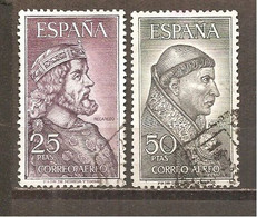 España/Spain-(usado) - Edifil  1538-39 - Yvert  Aéreo-294-95 (o) - Aéreo
