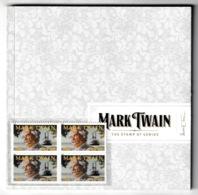 UNITED STATES 2011 Mark Twain: Souvenir Book UM/MNH - Cartoline Ricordo