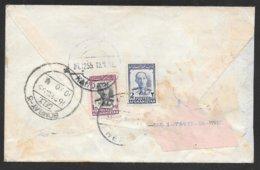 Afghanistan - 1955 Commercial Cover - Herta To Bombay India Via Kandahar - Afganistán
