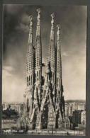 Targeta Postal. Espanya. Barcelona.Templo  Exp Nac De La Sagrada Família - Iglesias Y Catedrales