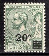 MONACO 1922 / 23  - Y.T. N° 51  - NEUF ** - Monaco