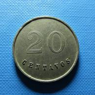 Token - 20 Centavos - Jetons En Medailles