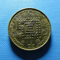 Token - 50c - Casino Estoril - Fichas Y Medallas