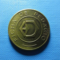 Token - Dersa - Ficha De Pedágio - Jetons & Médailles
