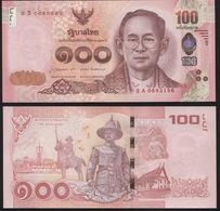 Thailand 100 Baht. ND (2015) Unc. Banknote Cat# P.120a - Thailand