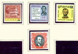GHANA  -  1965 Lincoln Set Unmounted/Never Hinged Mint - Ghana (1957-...)