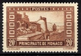 MONACO 1933 / 1937 -  Y.T. N° 120  -  NEUF** /1 - Monaco