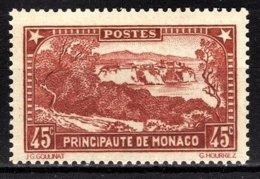 MONACO 1933 / 1937 -  Y.T. N° 123  -  NEUFS** /2 - Monaco