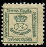 LOTE 1925   ///    (C010) ESPAÑA 1877 Y&T 172cº. Scott 221Aº. Michel 165º. Edifil 173º - Nuevos
