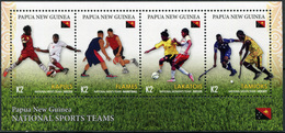 Papua New Guinea 2019. Papua New Guinea Sports Teams (MNH OG) Miniature Sheet - Papua Nuova Guinea