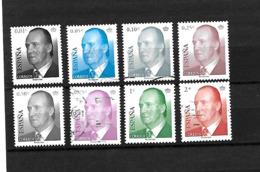 LOTE 1925   ///    (C075) ESPAÑA 2002.- (SC)Y&T 3424/31º.Scott 3133/40º.Michel 3704/11º.Edifil 3857/64º. - 1931-Hoy: 2ª República - ... Juan Carlos I