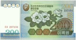 Korea, North - 200 Won - 2005 - Unc. - Pick 48 - Corea Del Nord