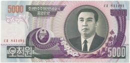 Korea, North - 5000 Won - 2006 - Unc. - Pick 46.c - Kim II Sung - Korea, North