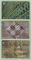 """Tonga - 1995 Second Issue Set (3) - TON-4/6 - """"2CTGA/C"""" - Mint - Tonga"""