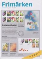 Sweden Brochure Frimärken 2019/5 Summer Party - 50th Anniversary Moon Landing - Blackbird - Sonstige