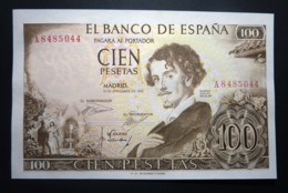 Spain 100 Pesetas 1965 P150 UNC. Letter A - [ 3] 1936-1975 : Régimen De Franco