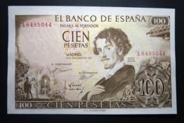 Spain 100 Pesetas 1965 P150 UNC. Letter A - [ 3] 1936-1975 : Regime Di Franco