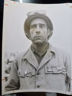 PHOTO Presse WW2 WWII : PHOTO XXL _ Sergent Julian ANDRE _ 2ème DB - Guerra, Militari