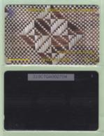 """Tonga - 1995 Second Issue - Textures - $10 White & Brown  - TON-5f - """"318CTGB"""" - VFU - Tonga"""