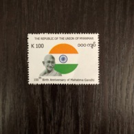 Myanmar (2019) 150th Birth Anniversary Of Mahatma Gandhi - Myanmar (Burma 1948-...)
