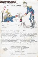 CARICATURE KAISER GUILLAUME II DINANT SOUAIN GAND MALINES SENLIS HAELEN LOUVAIN TOURNAI GAND ILLUSTRATEUR PATRIOTISME - Patriotic