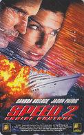 Télécarte Japon / 110-016 - CINEMA FILM - SPEED 2 / SANDRA BULLOCK - Japan Movie Phonecard - Kino Telefonkarte - 11728 - Kino