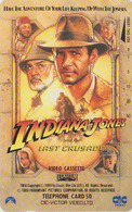 Télécarte Japon / 110-110858 - CINEMA FILM - INDIANA JONES  * LAST CRUISADE * - Japan Movie Phonecard - KINO TK - 11729 - Cinema