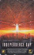 Télécarte Japon / 110-016 - CINEMA FILM - INDEPENDENCE DAY - Japan Movie Phonecard - Kino Telefonkarte - 11730 - Cinema