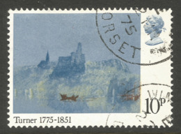 GREAT BRITAIN. QE2. 10p TURNER USED - 1952-.... (Elizabeth II)