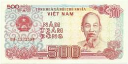 Vietnam - 500 Dông - 1988 - Pick 101 - Unc. - Serie GJ - Ho Chi Minh - Vietnam