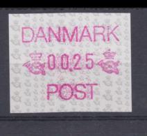 Denmark ATM Nr. 1 MNH/** (H50) - ATM - Frama (labels)