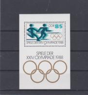 DDR 1988 Seoul Olympic Games Souvenir Sheet MNH/** (H50) - Summer 1988: Seoul