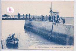 PORT-EN-BESSIN- LE PONT TOURNANT ET LA PASSE - Port-en-Bessin-Huppain