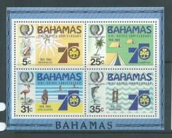 Bahamas 1985 Girl Guide Anniversary Miniature Sheet MNH - Bahamas (1973-...)