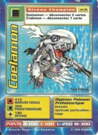 B - CARTE DIGIMON COELAMON 1ERE EDITION JD-36 FR ETAT MOYEN (Plis Nets Sur La Carte Et Bord Supérieur Abîmé) - Trading Cards