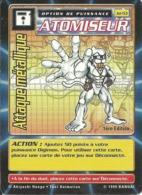 B - CARTE DIGIMON ATOMISEUR ATTAQUE METALLIQUE 1ERE EDITION JD-53 FR ETAT COURANT - Trading Cards