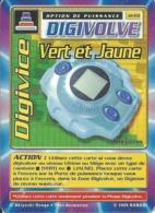 B - CARTE DIGIMON DIGIVOLVE DIGIVICE VERT ET JAUNE 1ERE EDITION JD-60 FR ETAT COURANT - Trading Cards