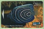 Fiji - 1995 Marine Life - $20 Angel Fish - FIJ-056 - VFU - Fiji