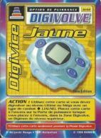 B - CARTE DIGIMON DIGIVOLVE DIGIVICE JAUNE 1ERE EDITION JD-62 FR ETAT COURANT - Trading Cards