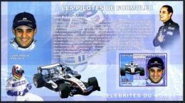 Congo 2006 MNH Imperf MS, Juan Pablo Montoya,  Colombian Formula 1 Car, Sports   ( - Cars
