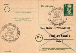 Ganzsache-Sonderstempel-Heimat Beleg .. (ke9175  ) Siehe Scan - [6] Democratic Republic