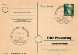 Ganzsache-Sonderstempel-Heimat Beleg .. (ke9178  ) Siehe Scan - [6] Democratic Republic