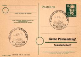 Ganzsache-Sonderstempel-Heimat Beleg .. (ke9179  ) Siehe Scan - [6] Democratic Republic