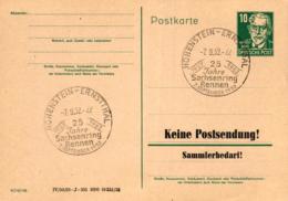 Ganzsache-Sonderstempel-Heimat Beleg .. (ke9180  ) Siehe Scan - [6] Democratic Republic