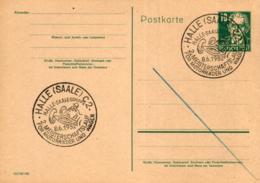 Ganzsache-Sonderstempel-Heimat Beleg .. (ke9187  ) Siehe Scan - [6] Democratic Republic
