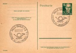 Ganzsache-Sonderstempel-Heimat Beleg .. (ke9188  ) Siehe Scan - [6] Democratic Republic