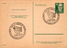 Ganzsache-Sonderstempel-Heimat Beleg .. (ke9189  ) Siehe Scan - [6] Democratic Republic