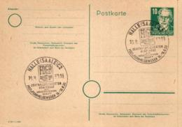 Ganzsache-Sonderstempel-Heimat Beleg .. (ke9194  ) Siehe Scan - [6] Democratic Republic